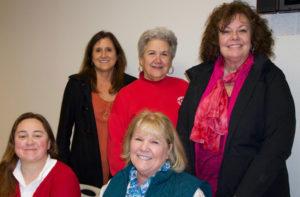 President: Adi Mitchell Past President: Linda Robinson Vice President: Pam Smith Treasurer: Robin Levy Secretary: Leslee Holt