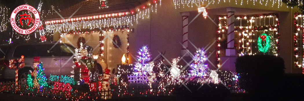 Holiday Home Lighting Contest
