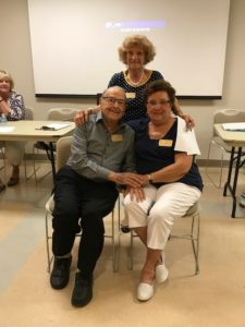 Dan & Mary Lou Moncino have been volunteering in Mission Viejo for more than 20 years and were presented with a gold badge at July's meeting.